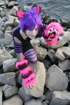 Cheshire Cat Cosplay from Alice in Wonderland
