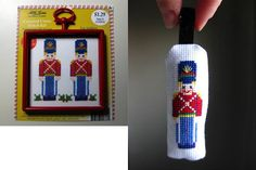 Turkishly Delightful: 25 Days of Ornaments: Cross-stitch Toy Soldier