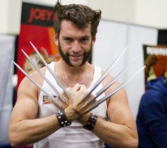 Wolverine #Cosplay #SDCC 2013  sc 1 st  Pinterest & Coolest Homemade Wolverine Halloween Costume | Hair u0026 Beauty that I ...