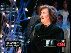 Beautiful...Talented Susan Boyle ~ O Holy Night ~ Larry King Live (13 Dec 10).