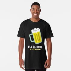 St Patricks Day, Irish, Beer, Printed, Awesome, People, Mens Tops, T Shirt, Art