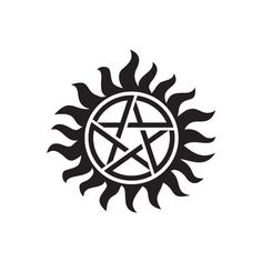 Supernatural. Hunter tattoo to block possession. Guy on etsy makes temporary ones for cosplay