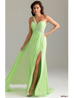 Affordable Prom Dresses long prom dress, green
