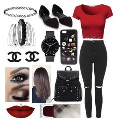 """#12"" by jasmeen-brar on Polyvore featuring Topshop, Nly Shoes, The Horse, Avenue, Anastasia Beverly Hills and Burberry"