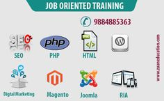 Job oriented Training in Chennai http://www.zuaneducation.com/chennai_training_courses.php