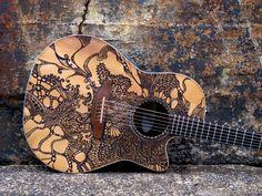 Girls Sometimes Have Guitars by Sarah Coffman, via Behance