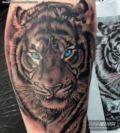 Tatuaje de tigre hecho por César Augusto Lemos, en Londres. Si quieres ponerte en contacto con él para un tatuaje o ver más trabajos suyos visita su perfil: http://www.zonatattoos.com/kumaro  Si quieres ver más tatuajes o diseños de tigres visita este otro enlace: http://www.zonatattoos.com/tag/155/tatuajes-de-tigres  #tattoos #tatuajes #ink #tigres