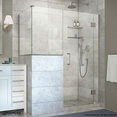 Dreamline Unidoor-X 60-In To 60-In Frameless Hinged Shower Door E13024