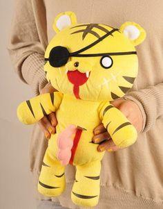 Moe Maniac: Kampfer Entrail Animals Plushie, Disemboweled tiger.
