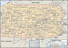 Interactive, changing map of Pennsylvania counties