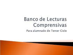 Blog de Atención a la Diversidad: Banco de Lecturas Comprensivas para Tercer Ciclo