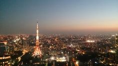 The night view from Andaz Tokyo