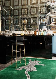 Diane Von Furstenberg The Rug Company Home Bar