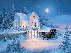 В окно стучится Рождество.... Обсуждение на LiveInternet - Российский Сервис Онлайн-Дневников