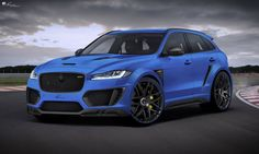 The Lumma Design CLR F is a tuning kit built for the Jaguar F-Pace. Head inside to discover more about it.