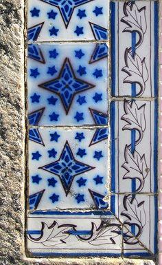 Azulejos antigos no Rio de Janeiro: Catumbi II - rua Emília Guimarães