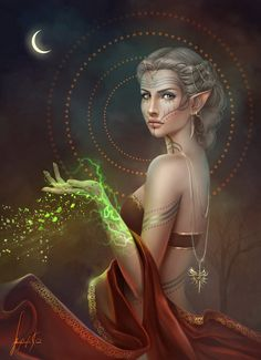 Lavellan (Iinquisitor Lavellan / Dragon Age Inquisition) by MissQualle.deviantart.com on @DeviantArt