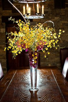 Wedding Flower Centerpieces with Feathers | repined by Denver Florist, Lehrer's Flowers