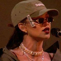 Rihanna in Custom Craig Green, Vintage Jean Paul Gaultier Black Girl Aesthetic, Boujee Aesthetic, Aesthetic Vintage, Aesthetic Pictures, Fille Gangsta, Gangsta Girl, Looks Rihanna, Sup Girl, Bad And Boujee
