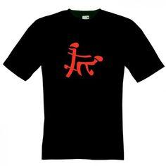 Tricou Caractere chinezesti funny Tricou ce reprezinta caractere similare cu cele chinezesti, intr-o ipostaza funny, de sex. Probabil ca acest tricou va crea ceva confuzie cuiva care vorbeste limba chineza. Tricou marca Fruit of the Loom, 100% bumbac. Pret: 23.9 ron Painted Clothes, Funny, Mens Tops, T Shirt, Fashion, Tattoo, Supreme T Shirt, Moda, Tee Shirt