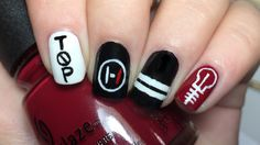 Twenty One Pilots nails and tutorial