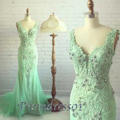 #promdress01 #promdress - beautiful mint green lace chiffon beaded sweetheart neckline long prom dress for teens, modest ball gown, occasion dress -> www.promdress01.c... #coniefox #2016prom