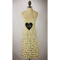 ~She is Loved - apron