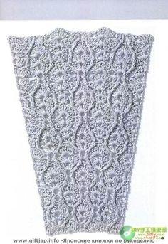 Mas de 50 tipos de puntadas en fantasìa para tejer faldas