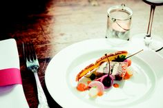 One of the many delicious dishes at The Brasserie, Merchants Manor.  To book a table give us a call or visit our website.
