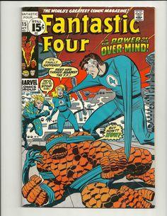 Fantastic Four No.115 - Marvel Comic Book  Oct 1971