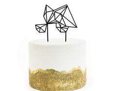 Geometric, Gem, Diamond Shaped Cake Topper Assortment, Laser Cut, Acrylic, 1 Ct.