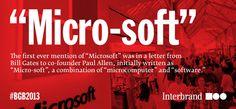 Interbrand – Best Global Brands 2013 - Microsoft