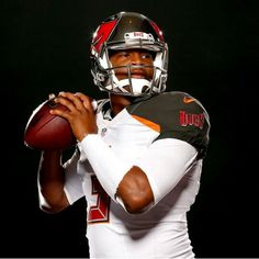 Jameis Winston's 1st photo shoot with the Bucs