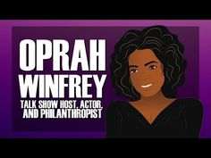 Oprah Winfrey for Kids (Biography) Black History Month for Kids/Children (Cartoo. American History Lessons, African American History, Biography Project, History Activities, History Classroom, History Timeline, Thematic Units, Educational Videos, Oprah Winfrey