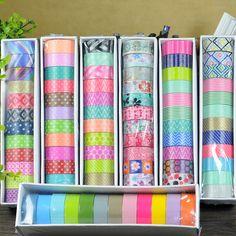Barato 12 pçs/set fitas washitape natal washi tape decorativa masking sticker…