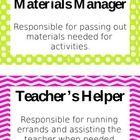 Class Jobs Bulletin Board