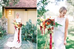 We are still crushing over this gorgeous In Full Bloom bouquet editorial photographed by the very talented Honey Gem Creative! Camp Lucy served as a perfect scenic backdrop, the vibrant space was a beautiful complement to every bouquet. MY STYLE TEAM created flawless makeup looks pairing the perfect lip colors with a natural updo. These charming dresses from Unbridaled are simply stunning next to these bountiful bouquets from Austin's finest florists. #themenagerie #sweetwaterstems