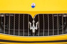 2010 Maserati Grille Emblem - Car Images by Jill Reger