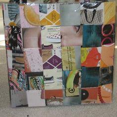 Bolsa de papel reciclado