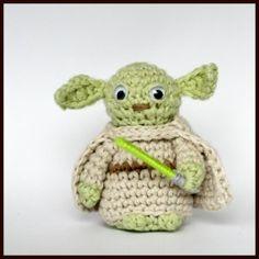 Yoda the Jedi Master Amigurumi  ~ Free Pattern