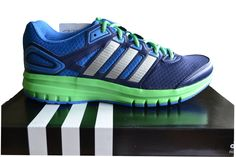 Adidas Duramo 6 Men's Running Trainers Blue/Green B40951