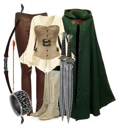 1000+ images about Lord of the Rings Outfits on Pinterest | Woman clothing Polyvore and Womenu0026#39;s ...