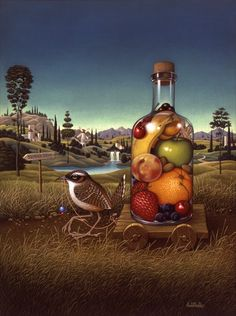 a la despensa, ilustración de Braldt Bralds