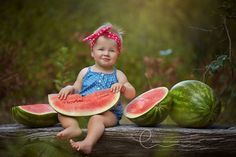 Child Photography | Watermelon | Mini Session                                                                                                                                                     More