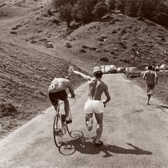 Eddy Merckx on the Bagneres-de-Luchon to Mourenx-Ville-Nouvelle stage of the 1969 Tour de France which saw him solo away for over 140 kilometres.