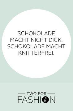 Wir lieben Schokolade!  #lustig #quote #lustigebilder #sprüche #funnyquotes #schokolade