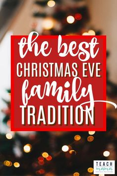One of my favorite nights of the year is Christmas Eve, and one of my favorite Christmas Eve family traditions involves something really simple: pajamas. I love any sort of family tradition, but for some reason, I always feel like holiday traditions are the best.Try this fun Christmas eve tradition for some family fun! #christmas #traditions #family #kidsactivities #christmaseve #holiday #kids #parents #activities
