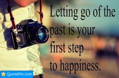 Letting Go Of The Past....