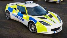 UK police car - Lotus Evora