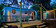 Authentic Airstream Trailer AirB&B in Wimberly,TX.